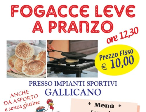 Focacce Leve 20 Ottobre 2019