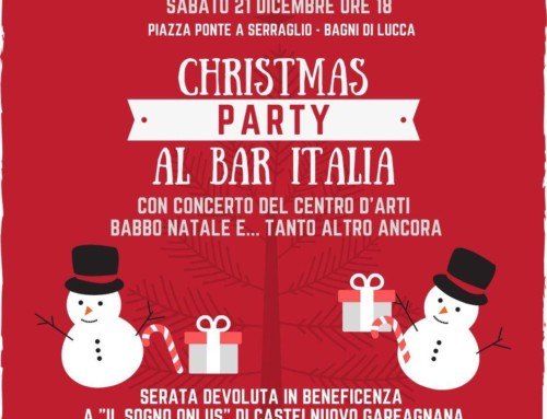 Christmas Party al Bar Italia Ponte a Serraglio 21 Dicembre 2019