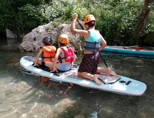 Gita con i nostri ragazzi al Canyon Park Bagni di Lucca